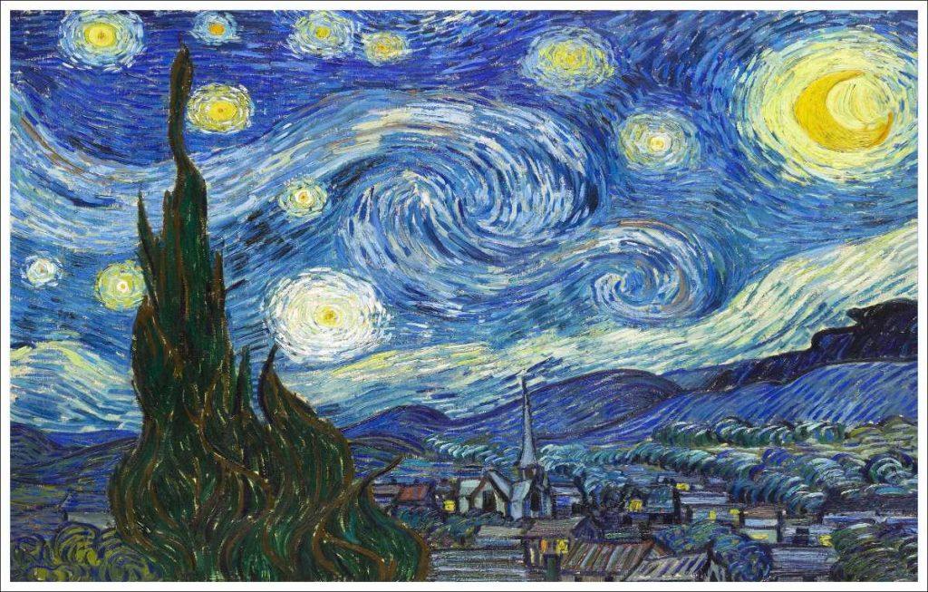 La noche estrallada Vincent van Gogh