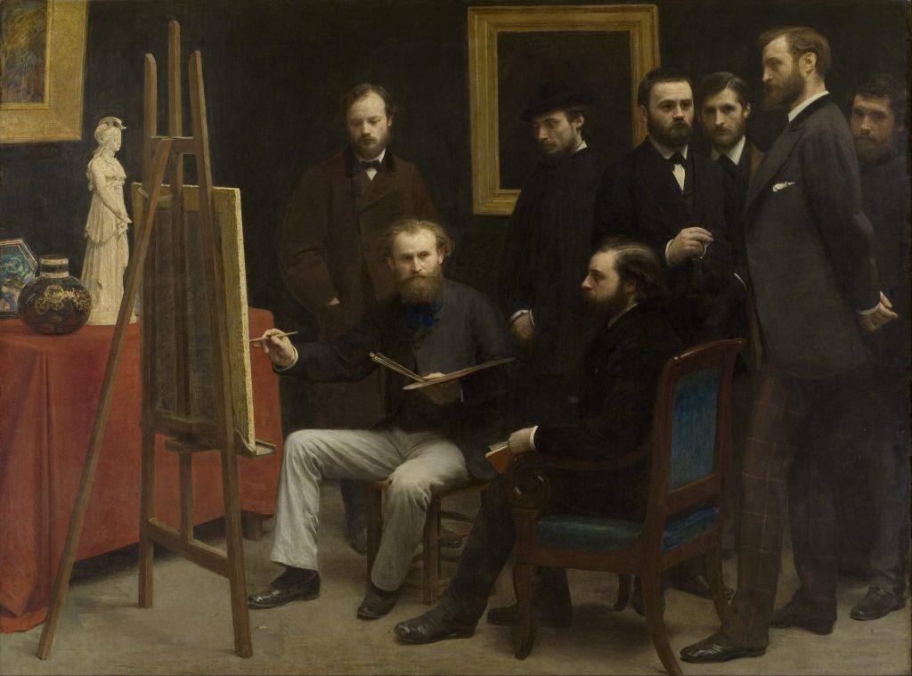 obras de edouard manet biografia